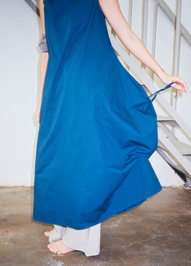 SIDE STRAP LONG DRESS
